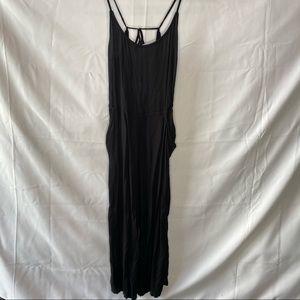 Roxy Black Spaghetti Strap Jumpsuit
